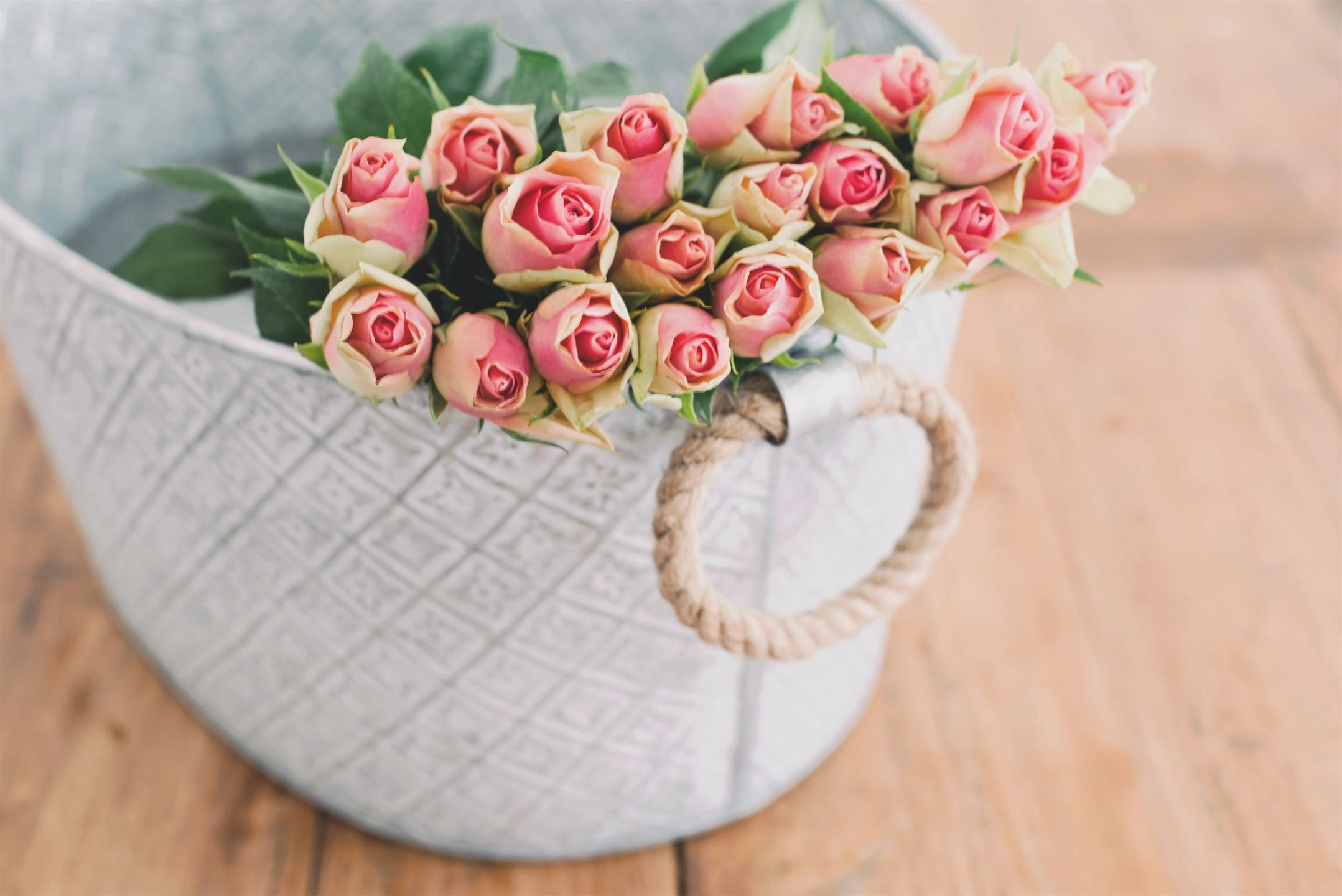 Mother's Day, Roses in basket