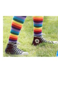 converse striped socks
